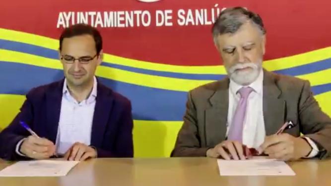 Firmado el Convenio sobre formación en Violencia de Género con el Ayto. de Sanlúcar de Barrameda
